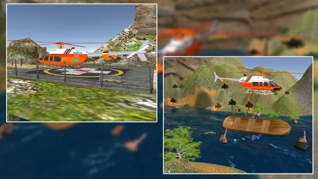 Rescue Helicopter Simulator apk screenshot