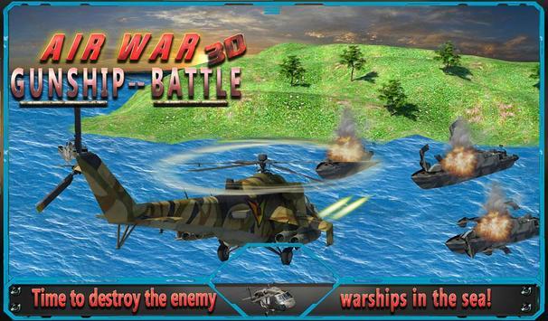 Air War Gunship Battle 3D apk screenshot
