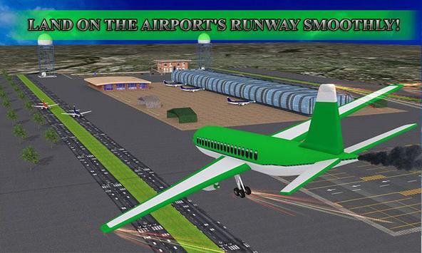 Airport Flight Alert 3D poster