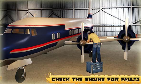 Airplane Mechanic Simulator poster