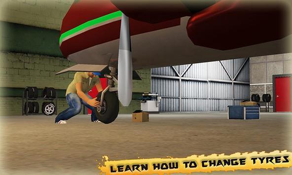 Airplane Mechanic Simulator apk screenshot