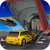 Car Transporter Cargo Jet icon