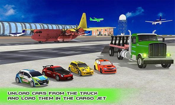 Car Transporter Cargo Jet poster