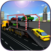 Car Transporter Truck Driver icon