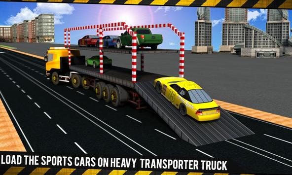 Car Transporter Truck Driver apk screenshot
