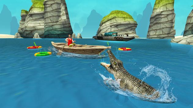 Crocodile Simulator Beach Attack apk screenshot