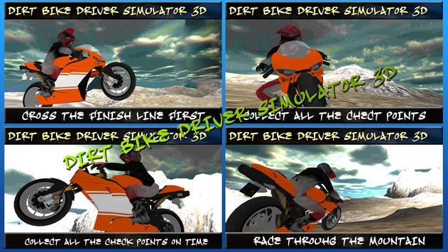 Dirt Bike Driver Simulator 3D screenshot 14