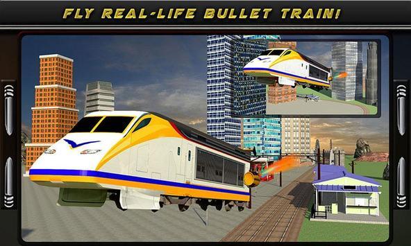Flying Bullet Train Simulator apk screenshot