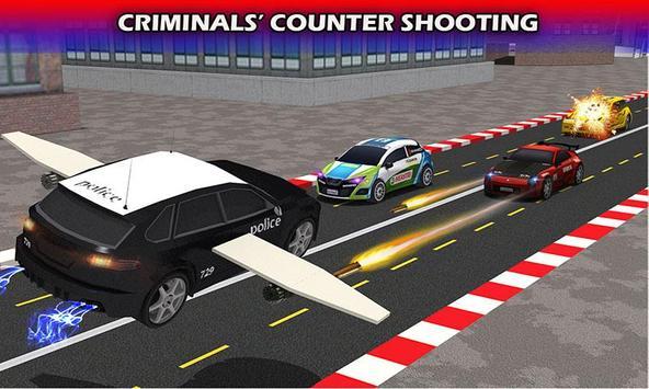 Flying Future Police Cars apk screenshot
