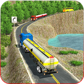 Oil Tanker Truck Driving Game icon