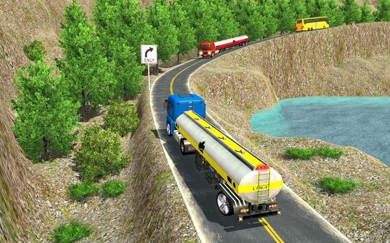 Oil Tanker Truck Driving Game poster