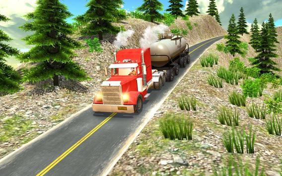 Oil Tanker Truck Driving Game screenshot 10