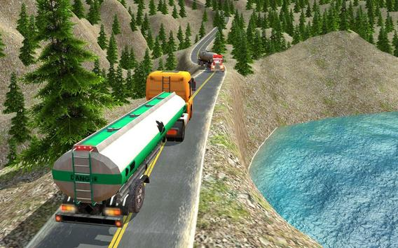 Oil Tanker Truck Driving Game screenshot 11