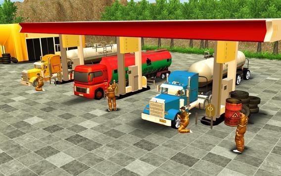 Oil Tanker Truck Driving Game screenshot 4