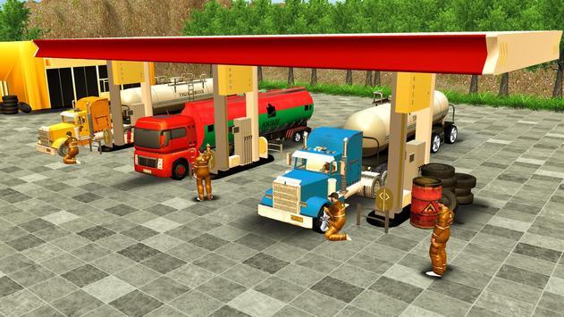 Oil Tanker Truck Driving Game screenshot 7