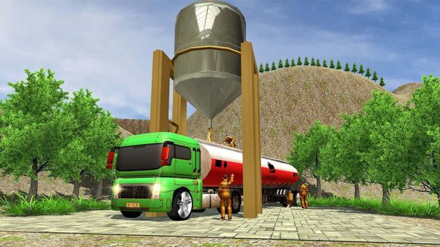Oil Tanker Truck Driving Game screenshot 9