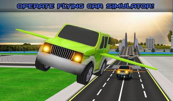 Futuristic Kids Flying Cars apk screenshot