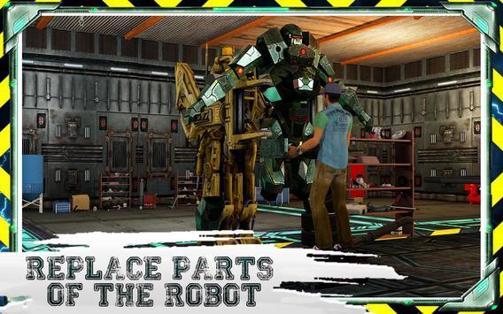 Futuristic Robot Mechanic apk screenshot