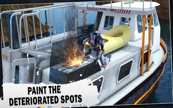 Futuristic Robot Boat Mechanic apk screenshot