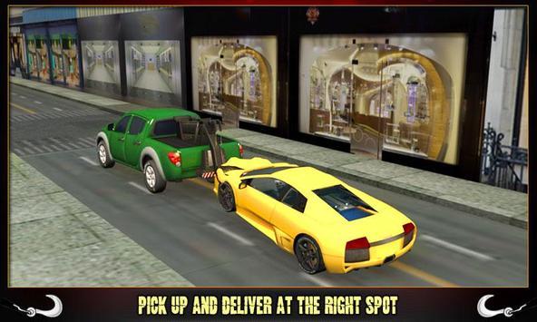 Car Tow Truck Transporter 3D poster