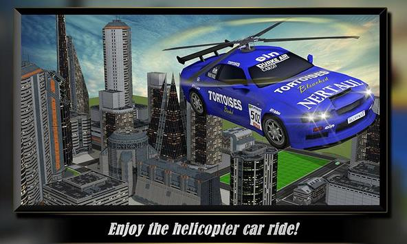 Helicopter Flying Car poster
