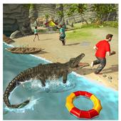 Hungry Crocodile Attack 2017 icon
