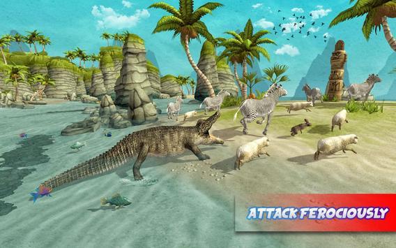 Hungry Crocodile Attack 2017 poster