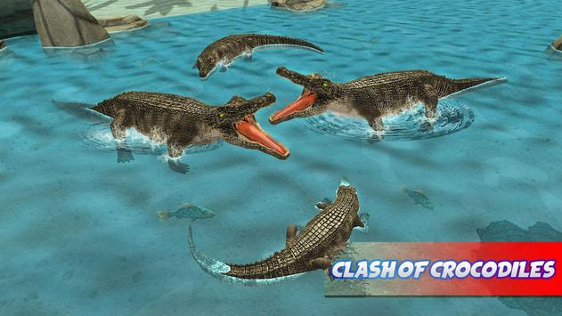 Hungry Crocodile Attack 2017 apk screenshot