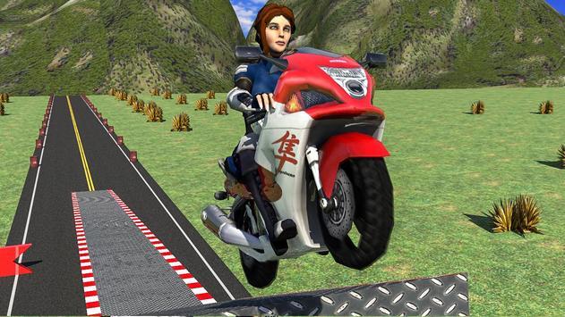 Mad Bike Stunts: Crazy Tricks Master screenshot 5