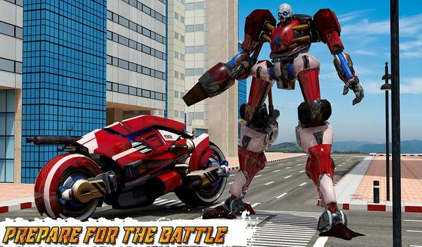 Moto Robot Transformation: Transform Robot Games apk screenshot