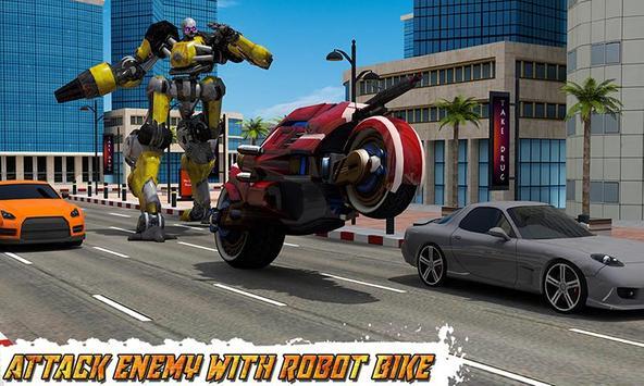 Moto Robot Transformation screenshot 1