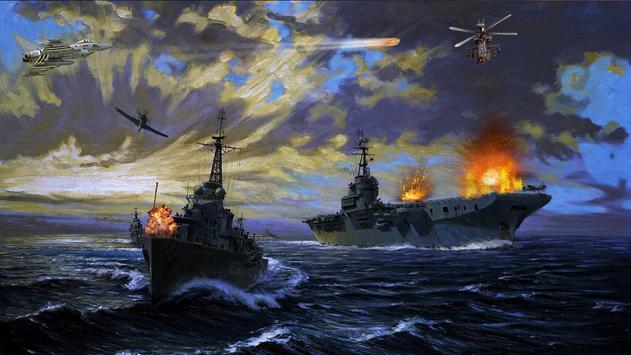 Navy combat battleship war 2019 screenshot 1