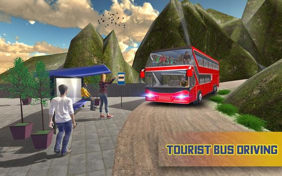 Tourist Coach Bus Simulator poster