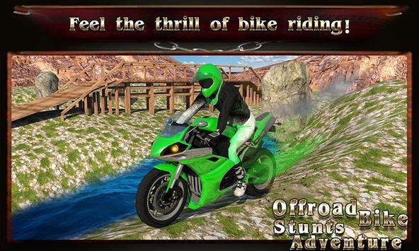 Offroad Bike: Stunts Adventure poster