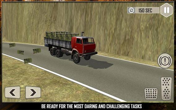 Off Road Cargo Truck Driver 3D apk screenshot