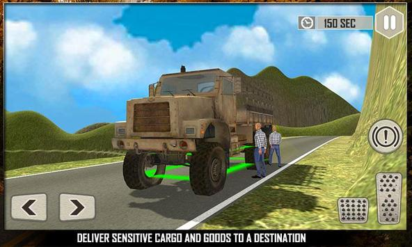 Off Road Cargo Truck Driver 3D poster