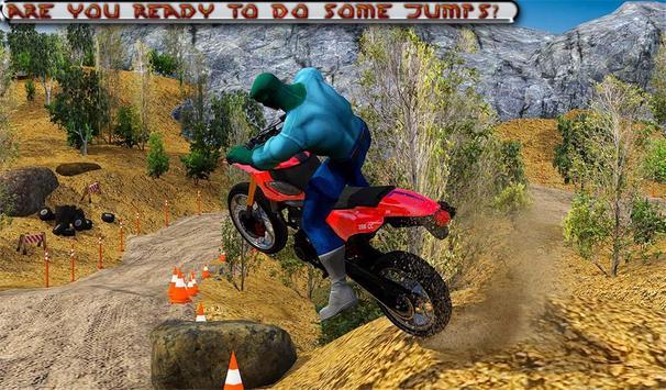 Bike off Road Dirt Racing: Moto Hill Legends 3D screenshot 13