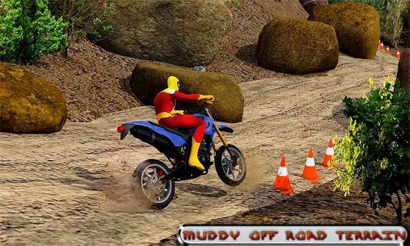 Bike off Road Dirt Racing: Moto Hill Legends 3D screenshot 2