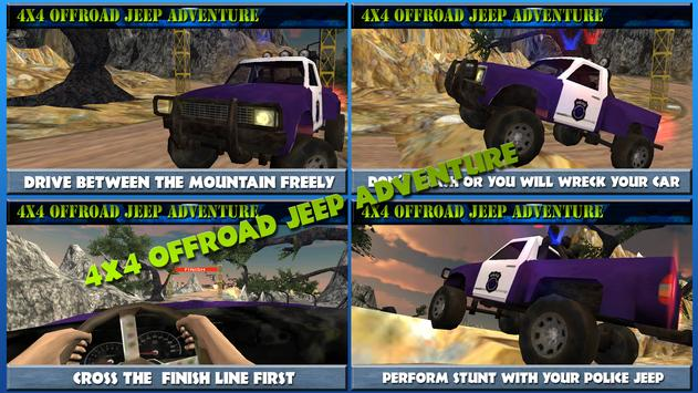 4x4 Offroad Jeep Adventure screenshot 4