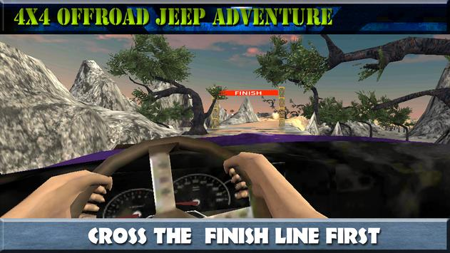 4x4 Offroad Jeep Adventure screenshot 10