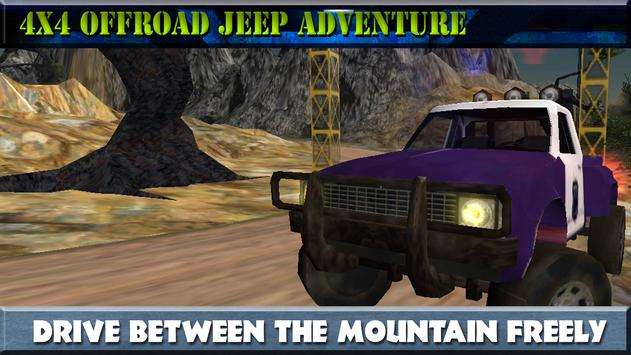 4x4 Offroad Jeep Adventure screenshot 1
