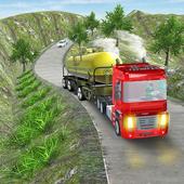Oil Tanker Truck Fuel Hill Sim icon