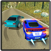 Real Police Criminal Chase Car icon