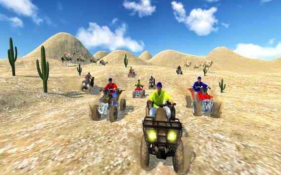 Quad Bike Desert Driving 2017 screenshot 8