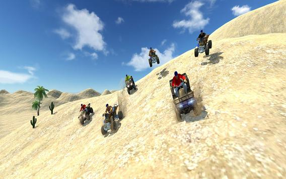 Quad Bike Desert Driving 2017 screenshot 1