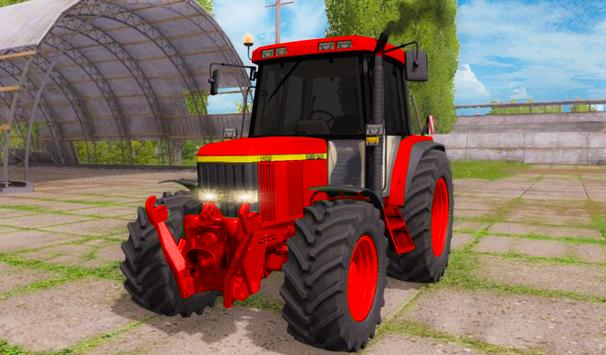 Real Tractor Farming Sim 2019 poster