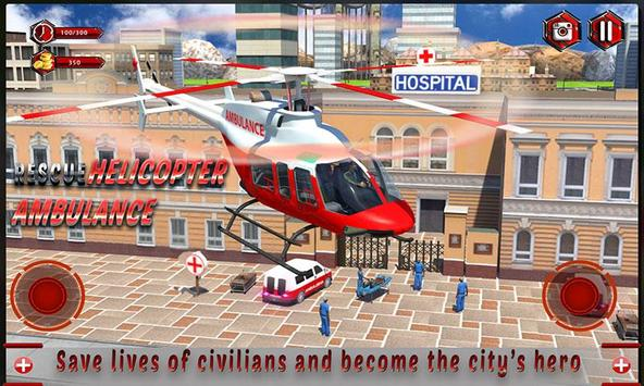 Rescue Helicopter Ambulance poster