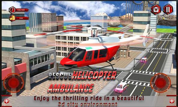 Rescue Helicopter Ambulance apk screenshot