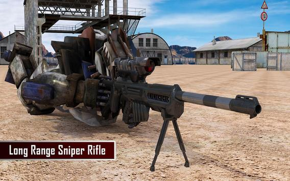 Robo Sniper: Mountain War apk screenshot