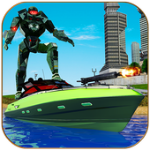 Robot Boat Transformation icon